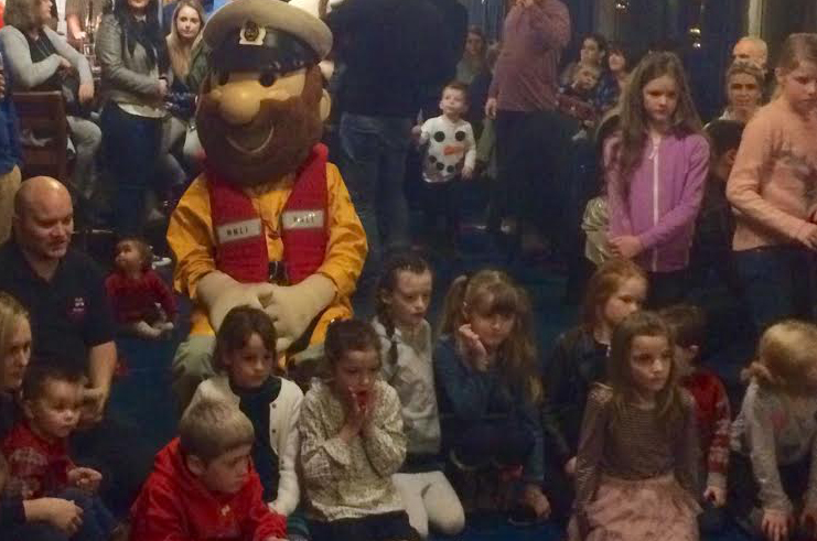 The RNLI party on Wirral with special guest Stormy Stan