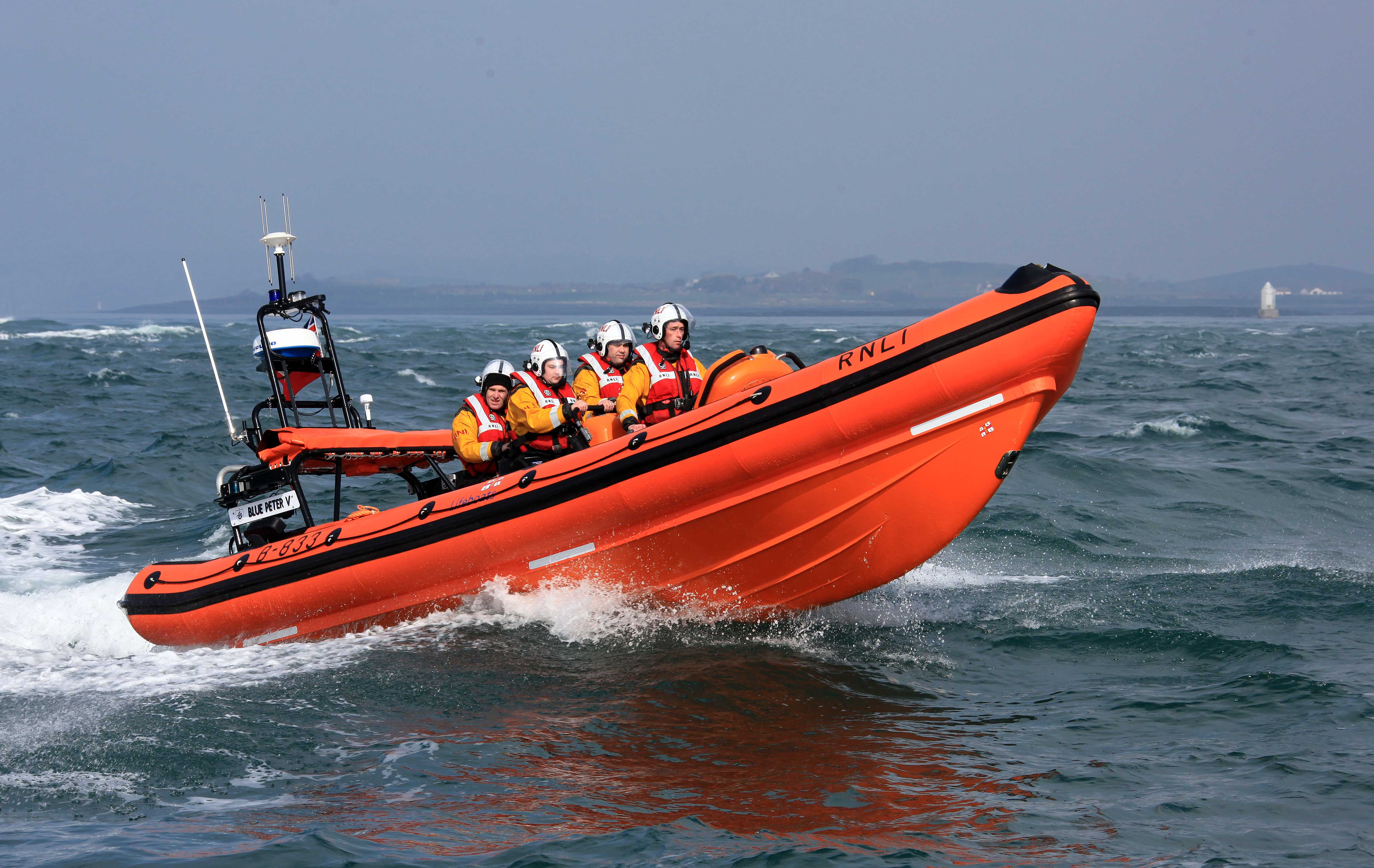 File photo of Portaferry RNLI lifeboat