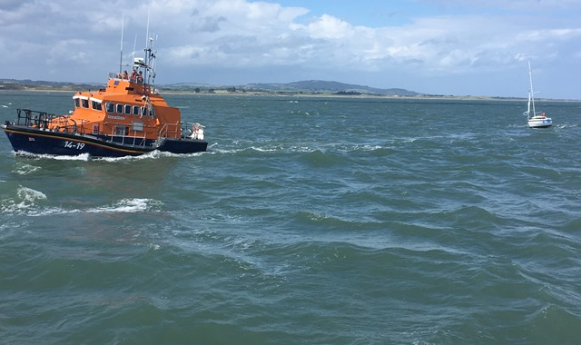 ARKLOW RNLI TOWING CASUALTY HOME