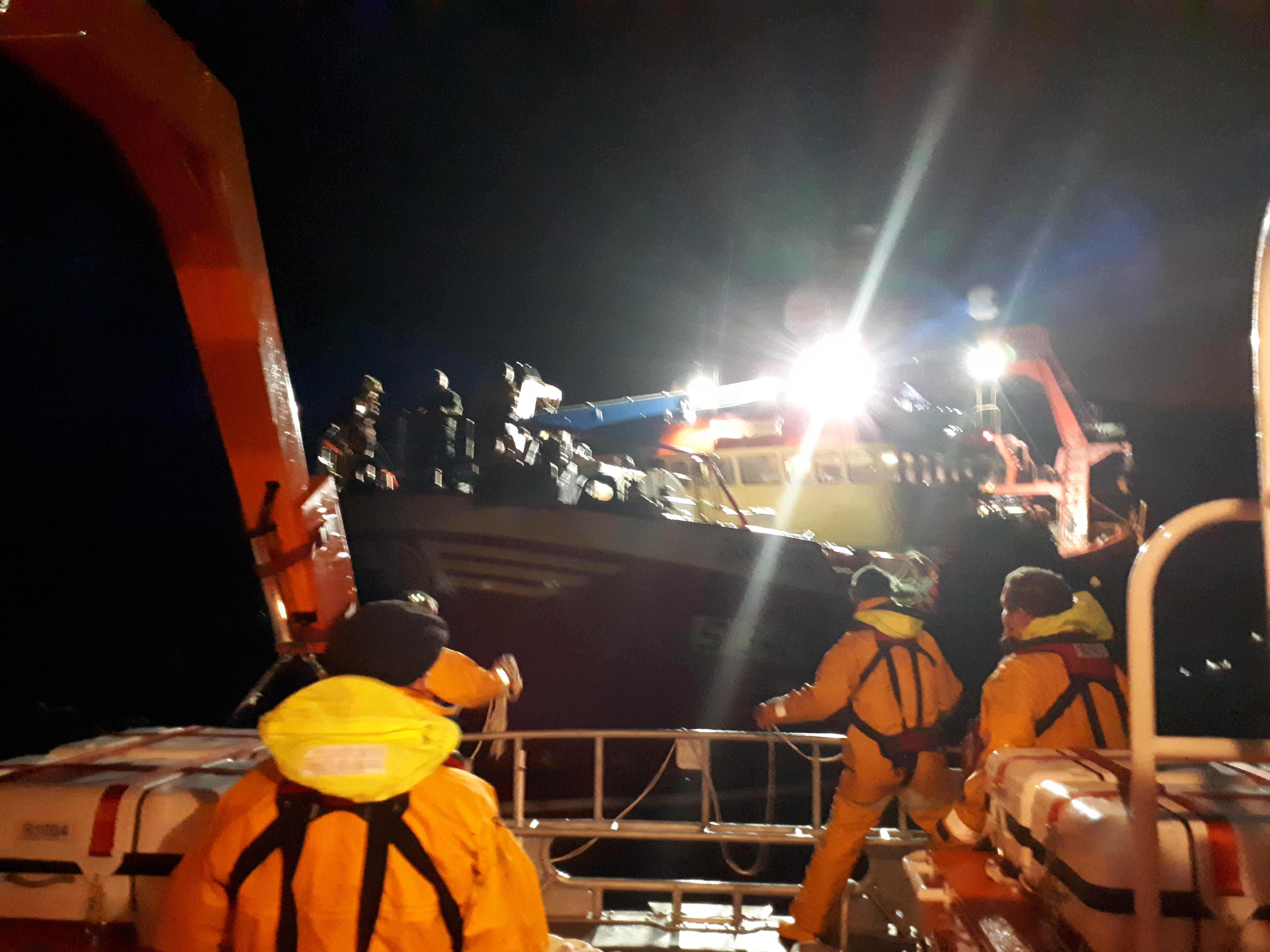 Arranmore RNLI on 14 hour callout