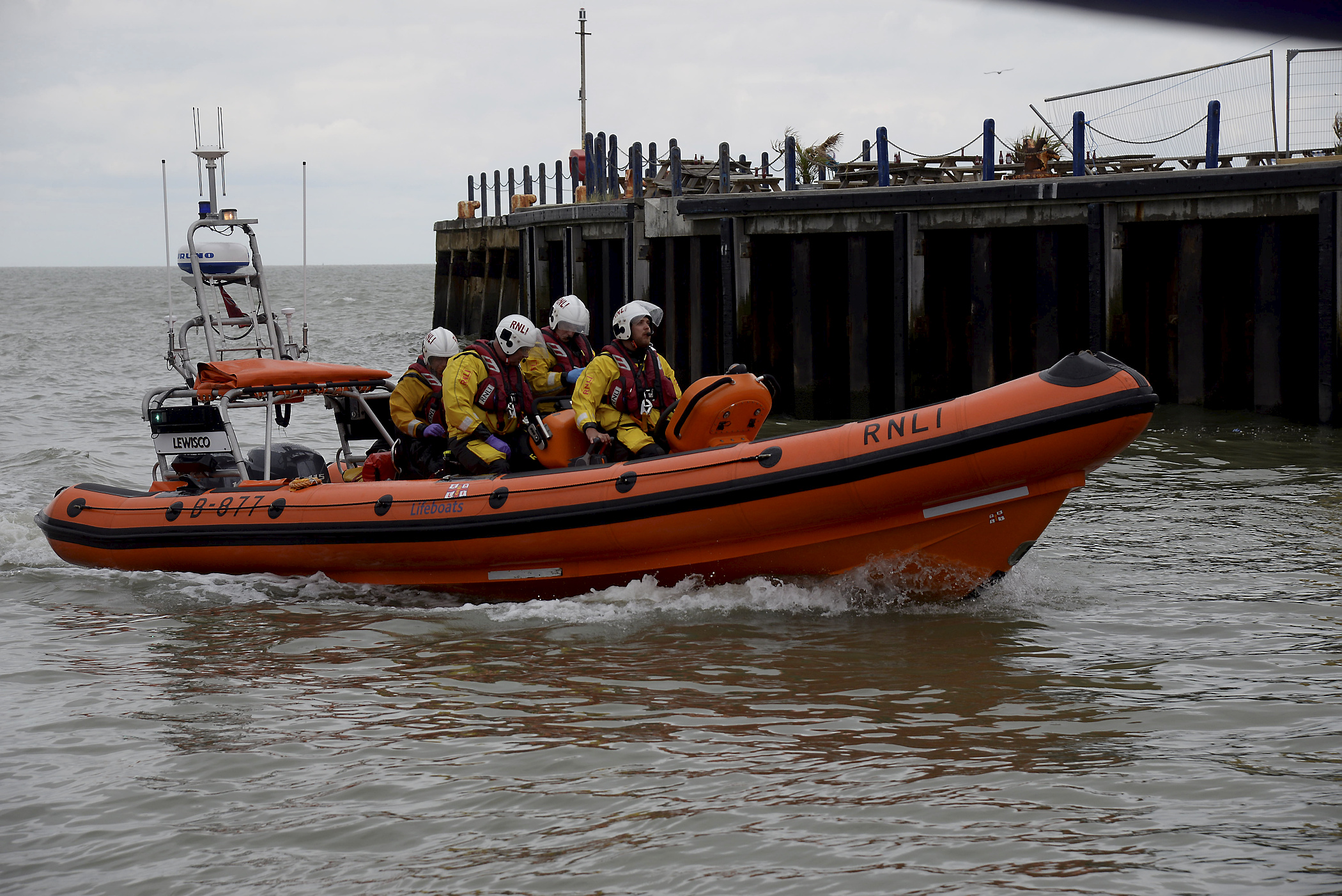 Whitstable's Atlantic 85 Lifeboat 'Lewisco'. Picture: RNLI Whitstable