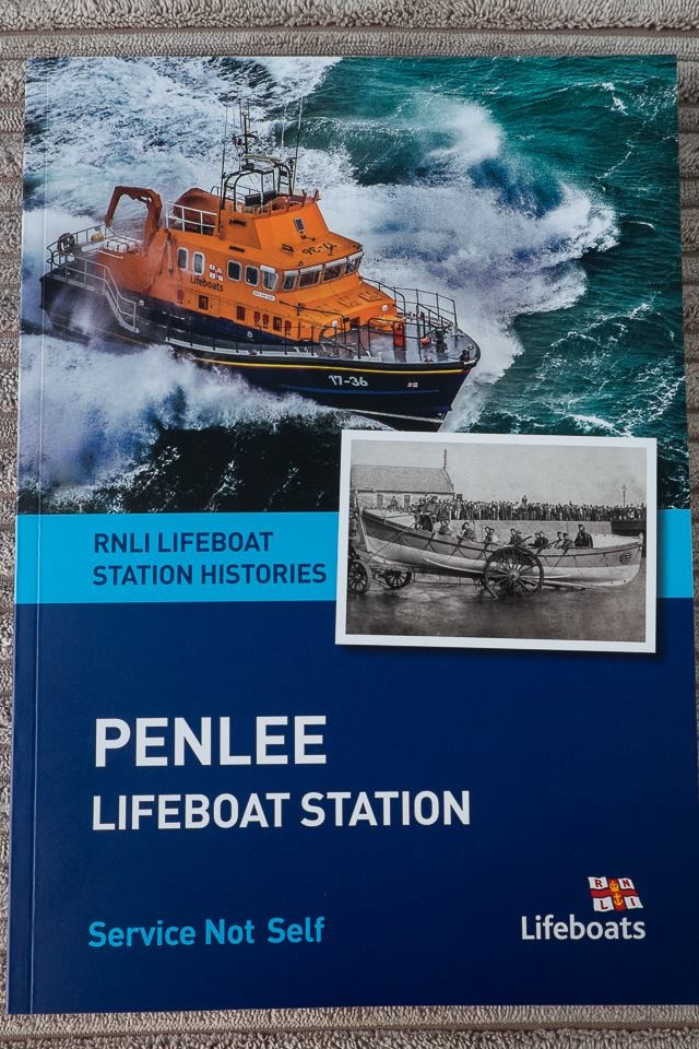 Front cover of Penlee Lifeboat History Book
