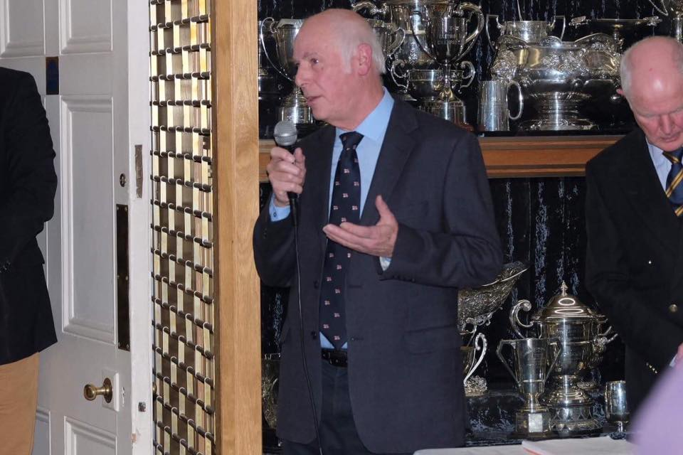 Chairman Eric Burton at the Presentation