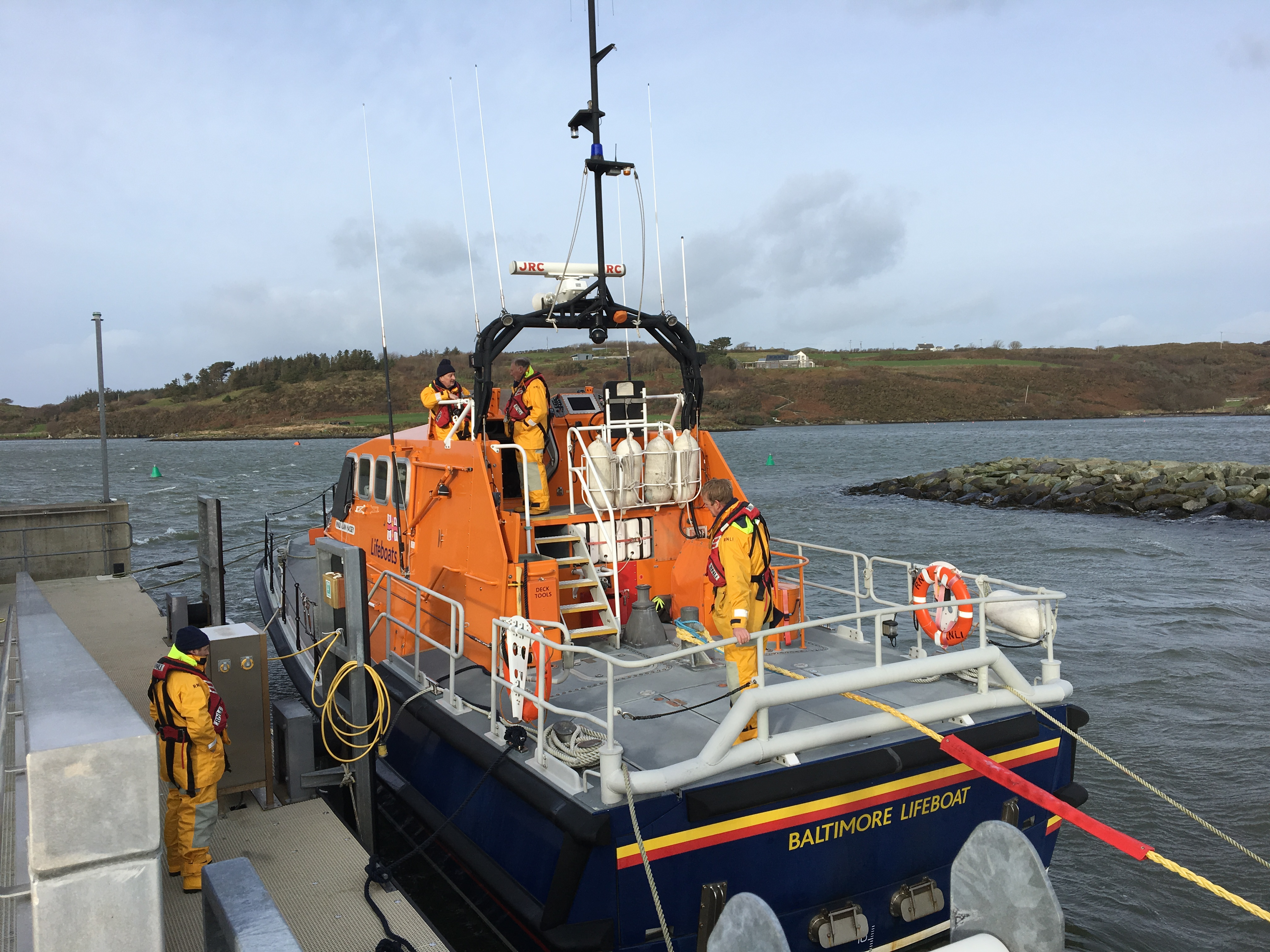 Baltimore RNLI had two callouts in one day