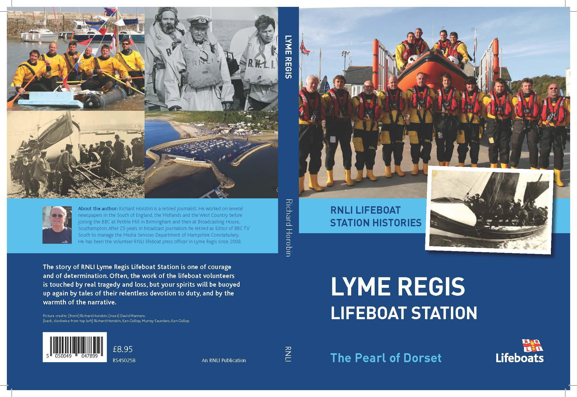 This is the cover of the new Lyme Regis book.