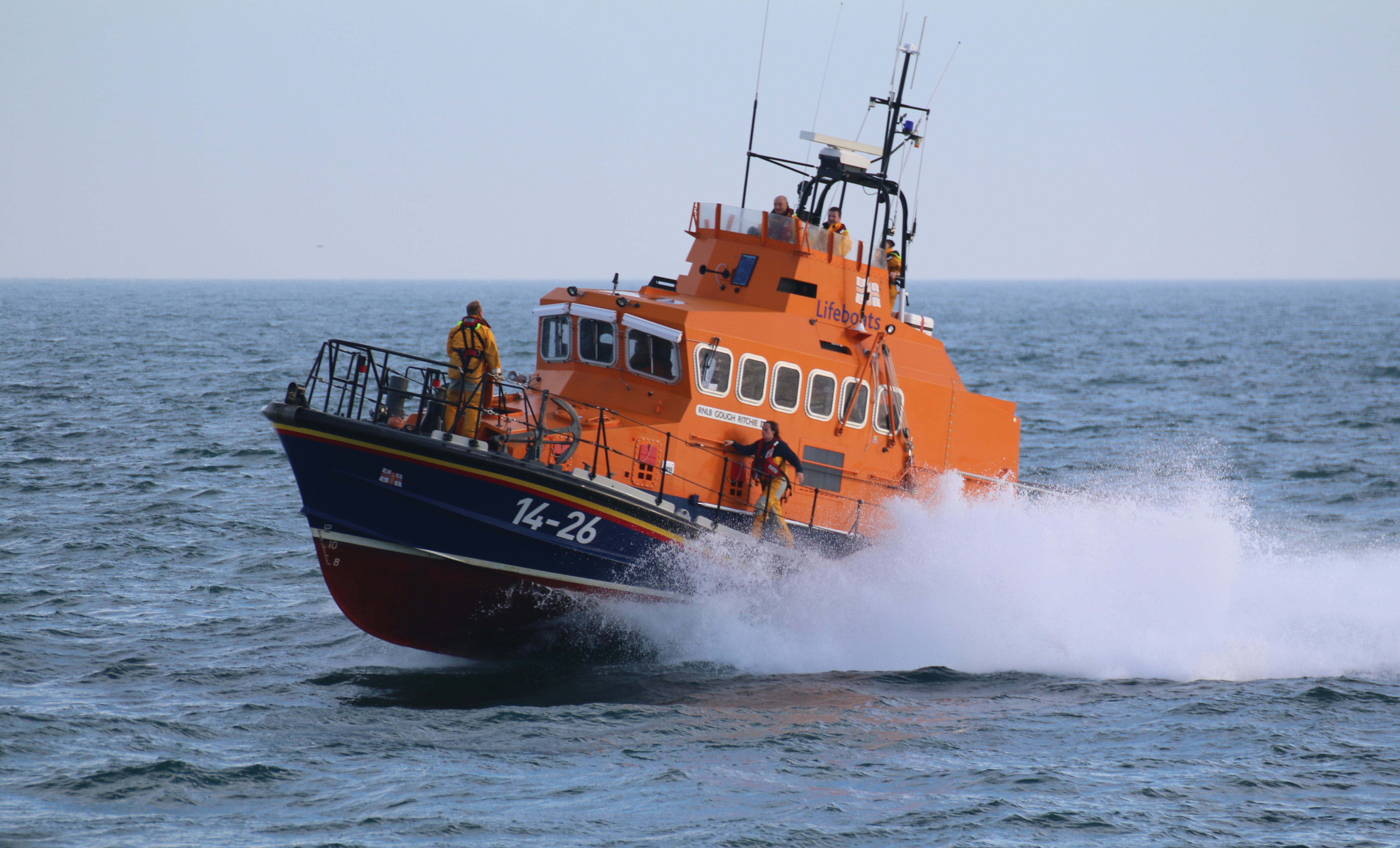 Port St Mary RNLI's all-weather Trent class lifeboat