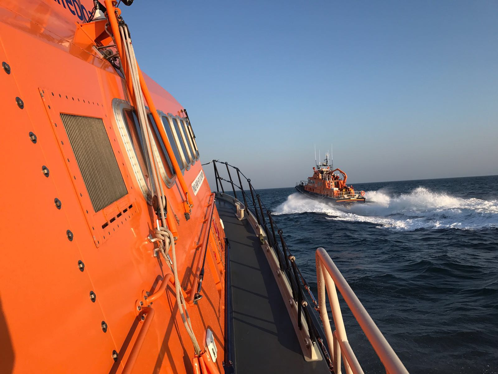Red Bay RNLI and Campbeltown RNLI in search for missing surfer