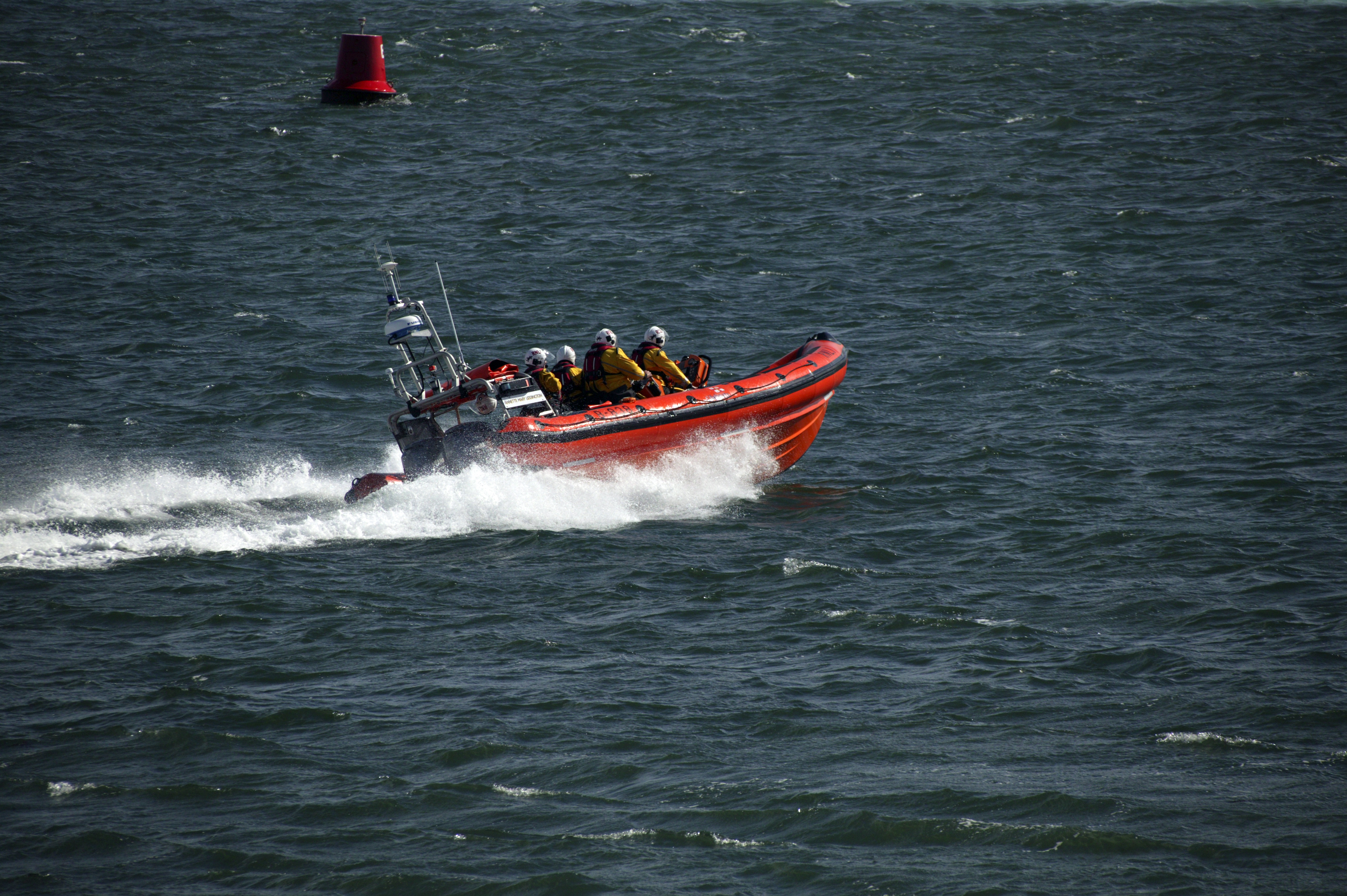The Annette Mary Liddington Beaumaris Atlantic 85 Inshore Lifeboat