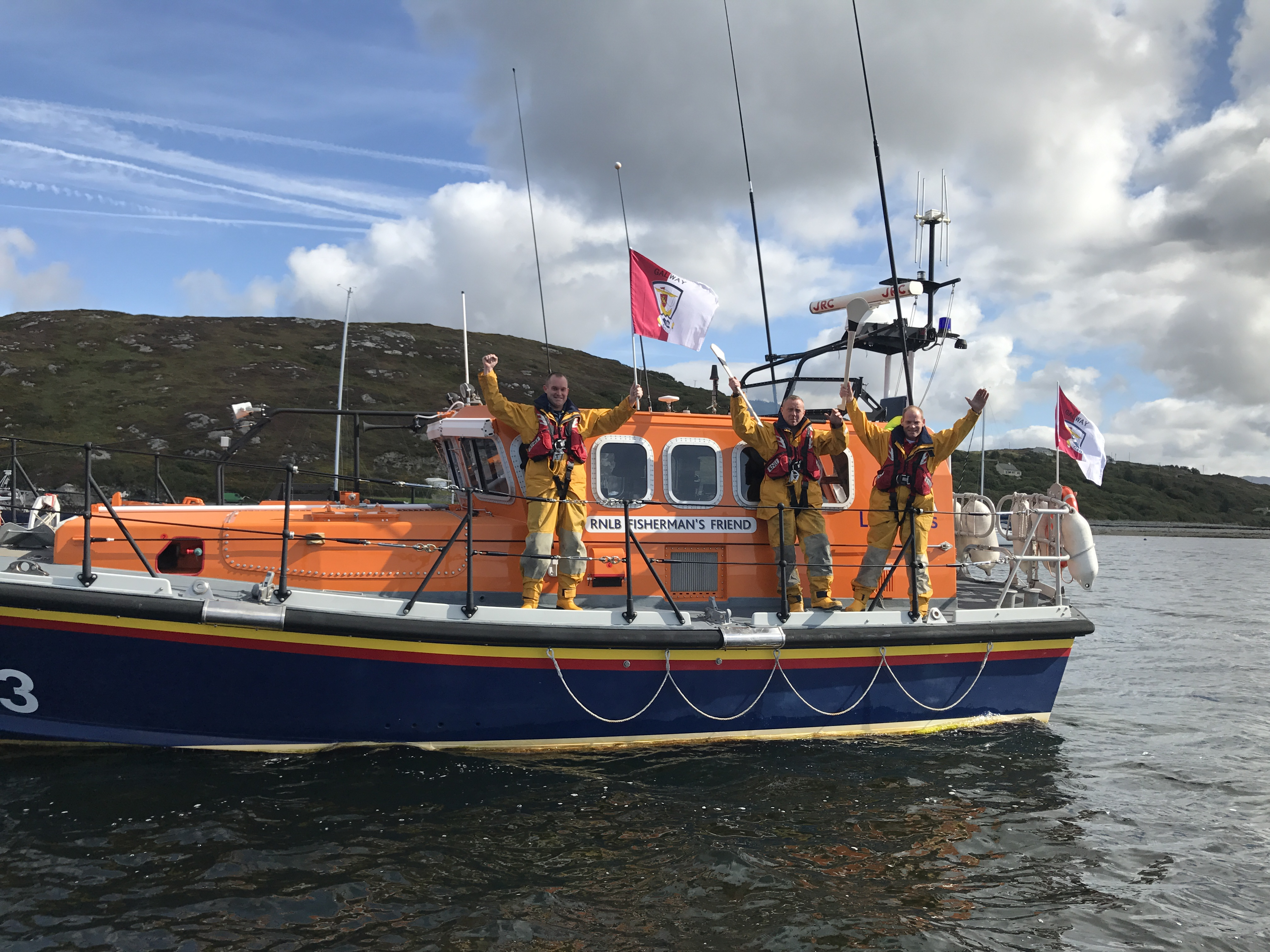 Clifden RNLI gets the go-ahead for all weather lifeboat