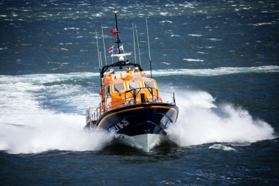 The Moelfre Tamar Class Lifeboat