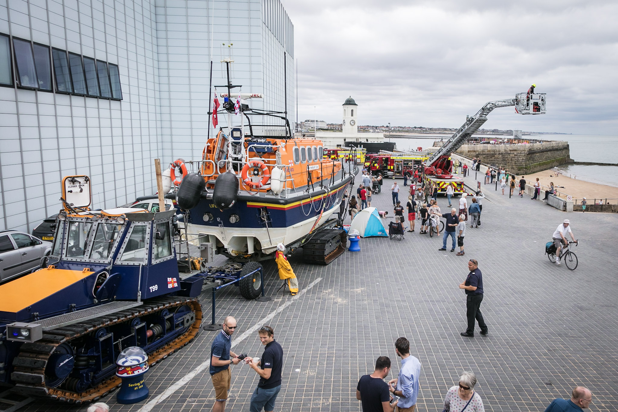 Emergency Services Day - Margate (RNLI Margate)