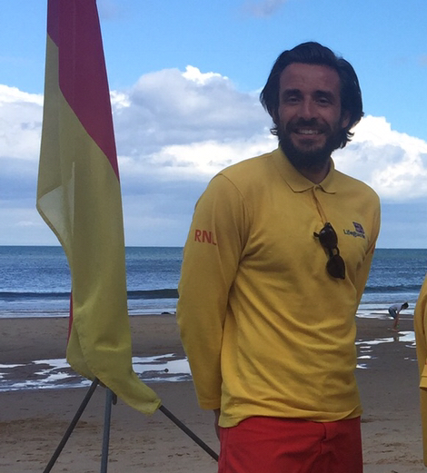 RNLI Lifeguard Will Hogg