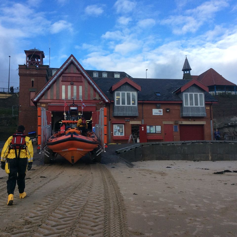Cullercoats Lifeboat, Boathouse and Crew Member, George