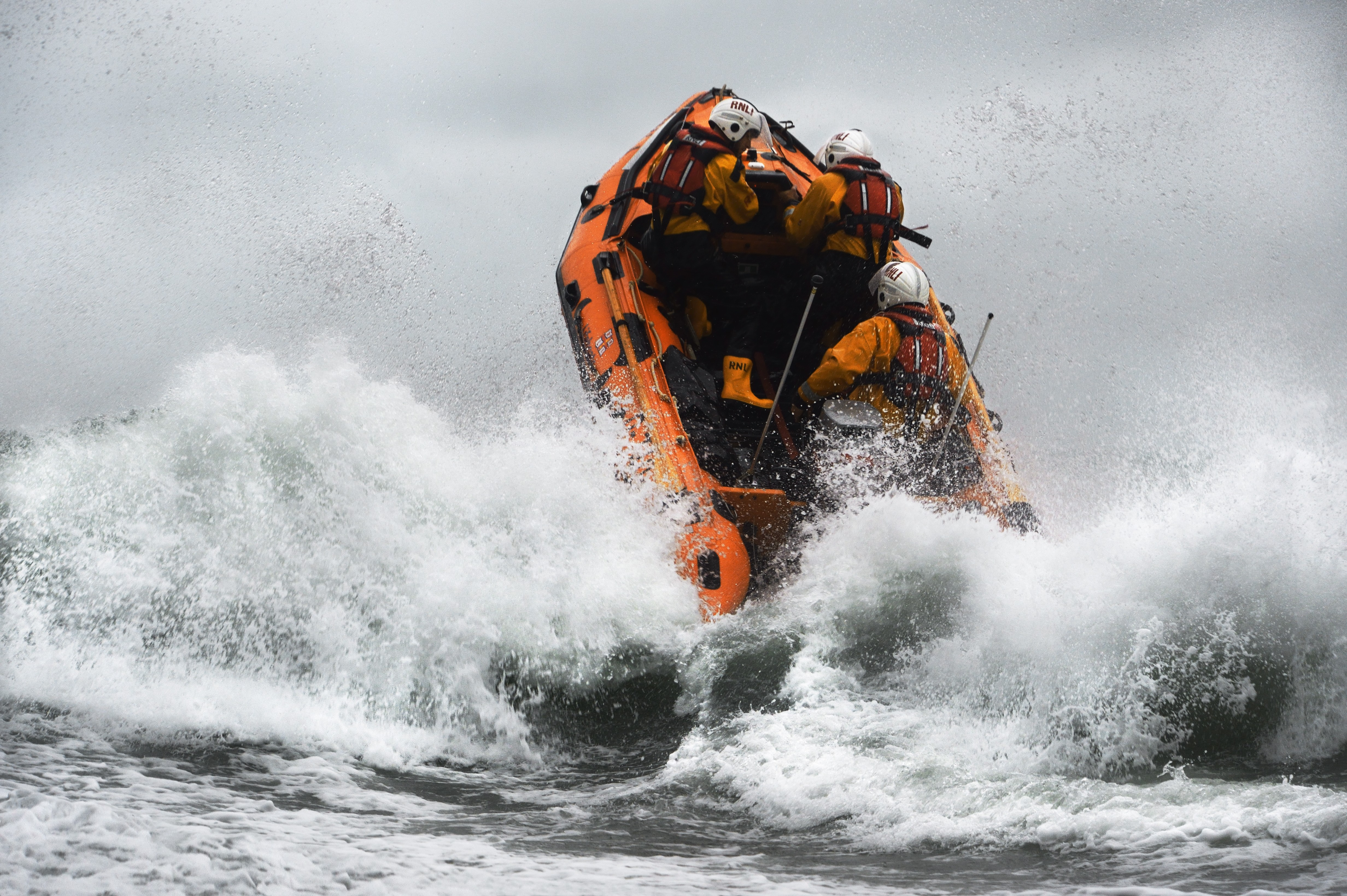 D class inshore lifeboat