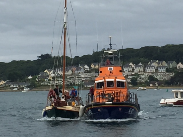 Busy day on the water for Courtmacsherry RNLI