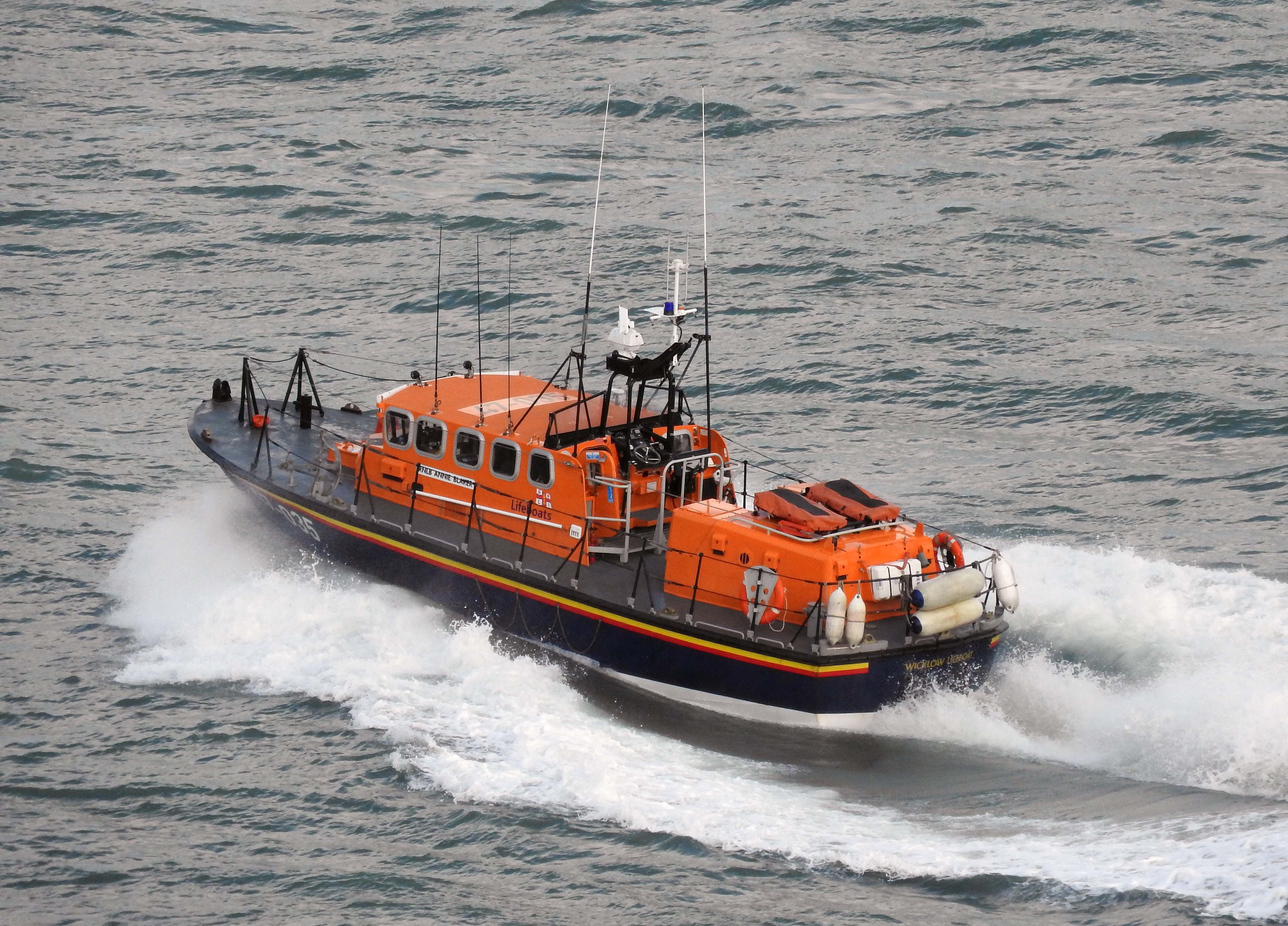 Wicklow Tyne class lifeboat Annie Blaker