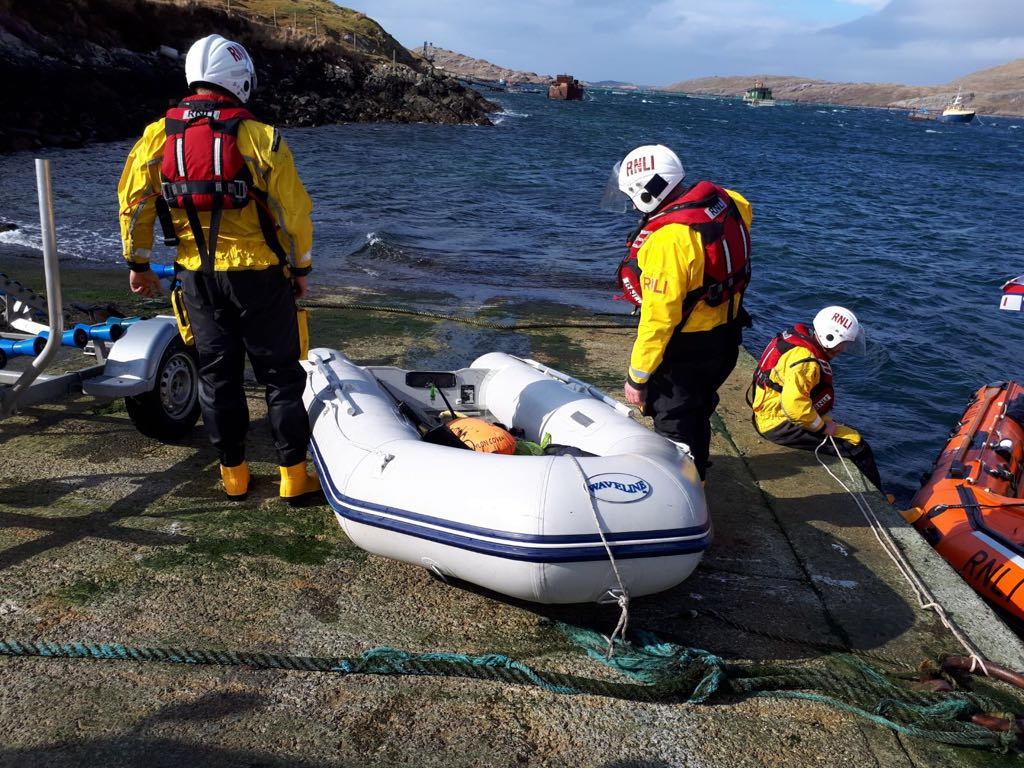 St. Patrick's Day callout for Clifden RNLI