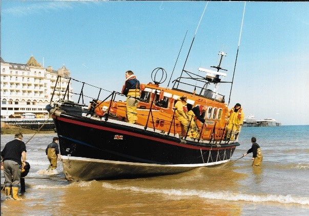 Former Llandudno all-weather lifeboat Andy Pearce