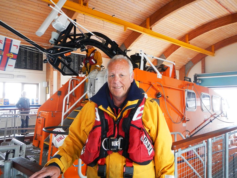 Guy Willing, coxswain of the Bembridge lifeboat.