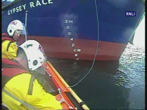 Both Berwick and Eyemouth RNLI launched to assist a vessel that had run aground whilst responding to a MAYDAY call to assist a female from the water. The female was helped to safety by Berwick RNLI and, after waiting until high water, was safely re floated with the assistance of flank station, Eyemouth.