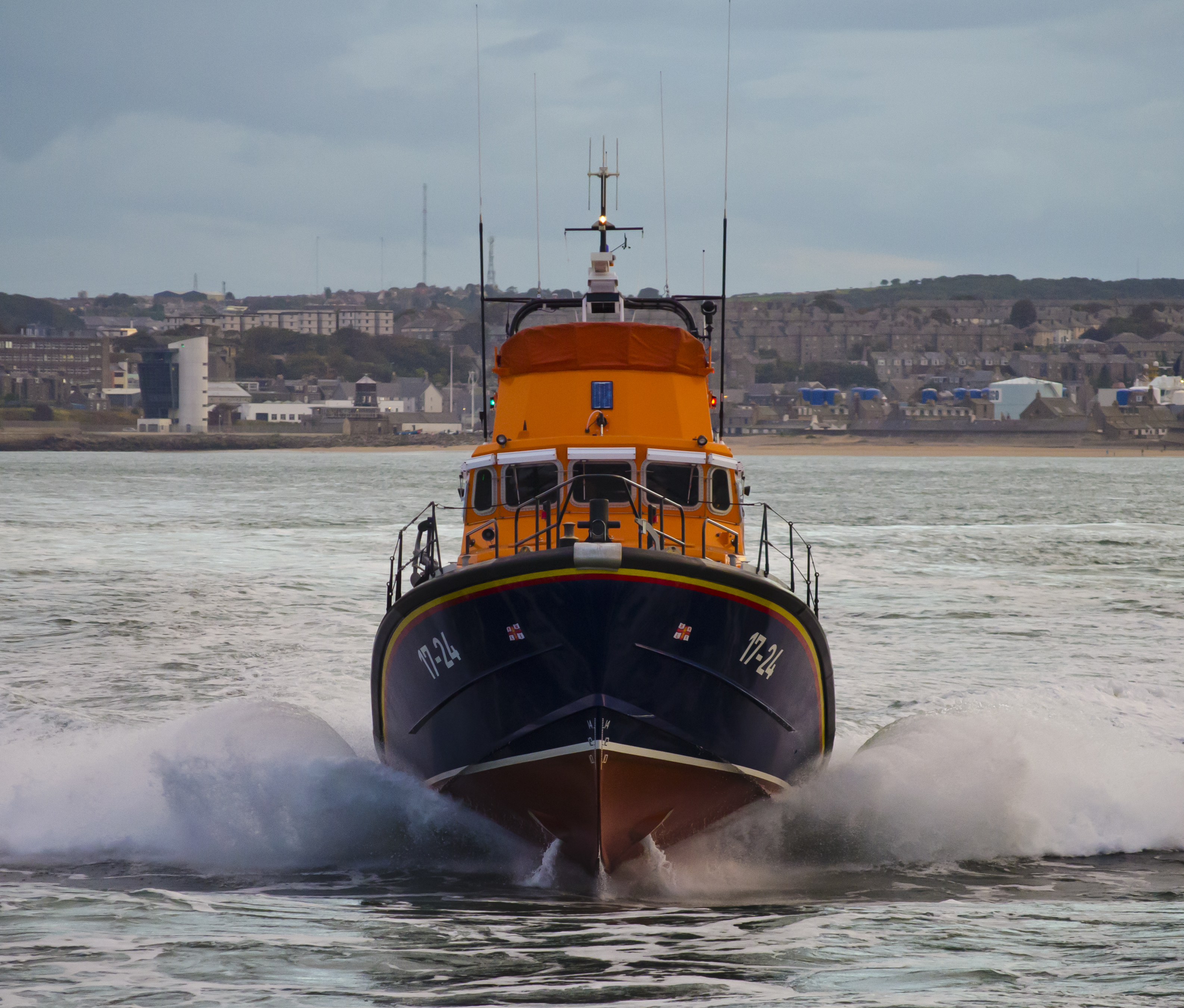 Aberdeen's Severn class all weather lifeboat 'Bon Accord'