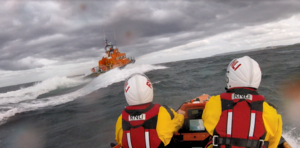 Both Dunbar lifeboats head to Torness Power Station after report of person in the water