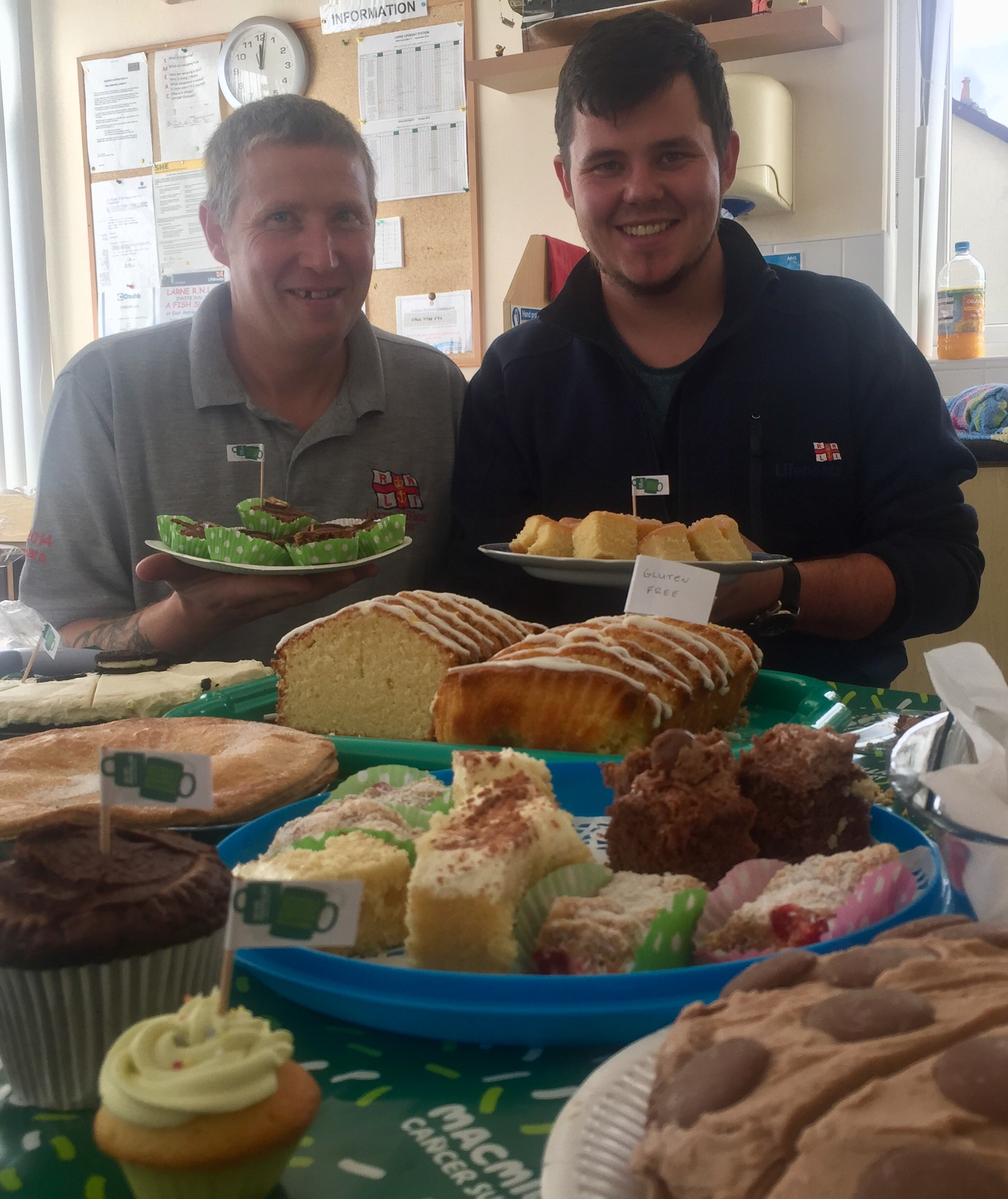 Larne RNLI Macmillan Coffee Morning