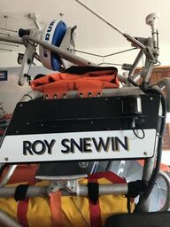 Atlantic 85 Name board for the Roy Snewin