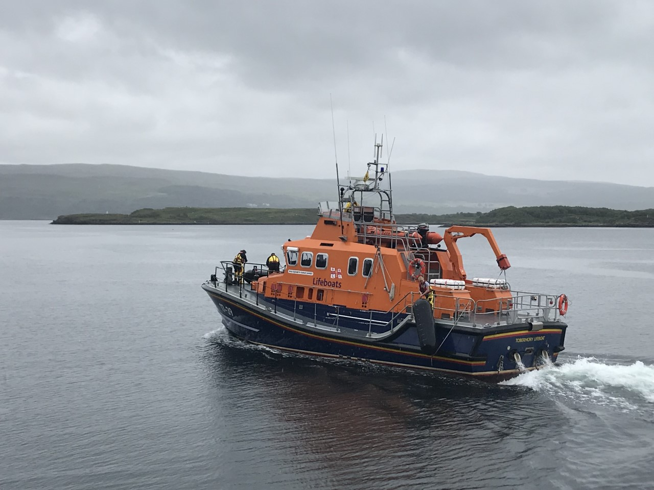 Tobermory Severn class lifeboat