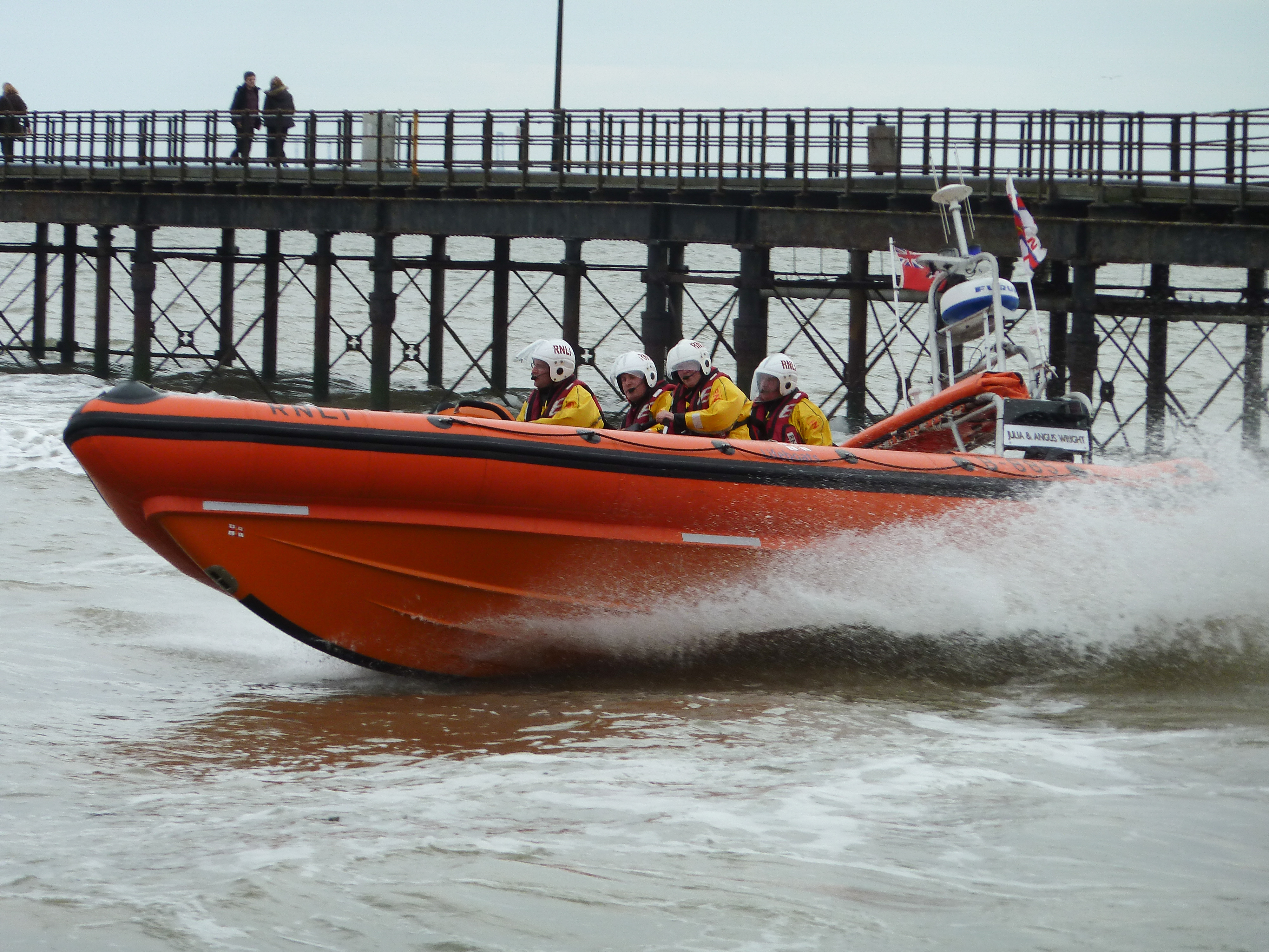 Photograph of Southend Lifeboat Station's Atlantic 85 lifeboat.
