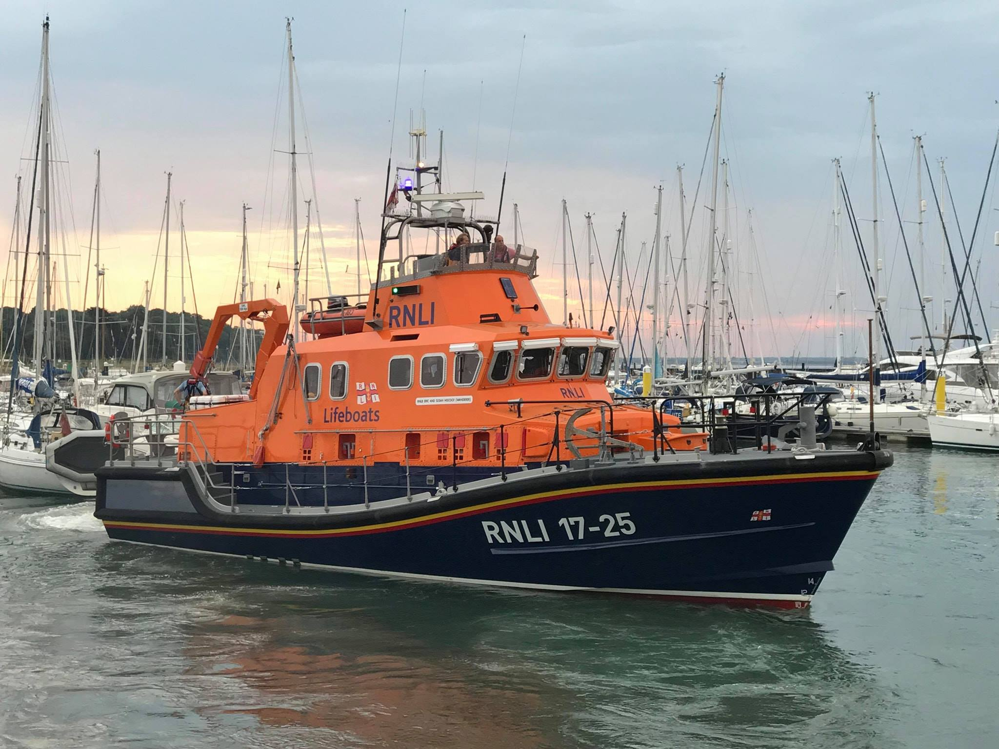 The Yarmouth Lifeboat 'Eric and Susan Hiscock (Wanderer)'