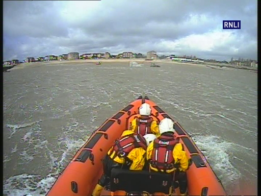 Probationary Helm and navigation training in rough sea conditions on 10 March 2019