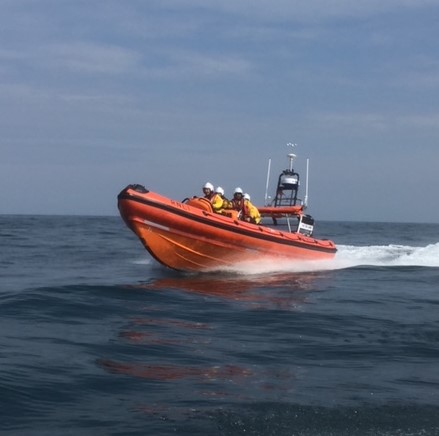 A stock photo of Teignmouth lifeboat