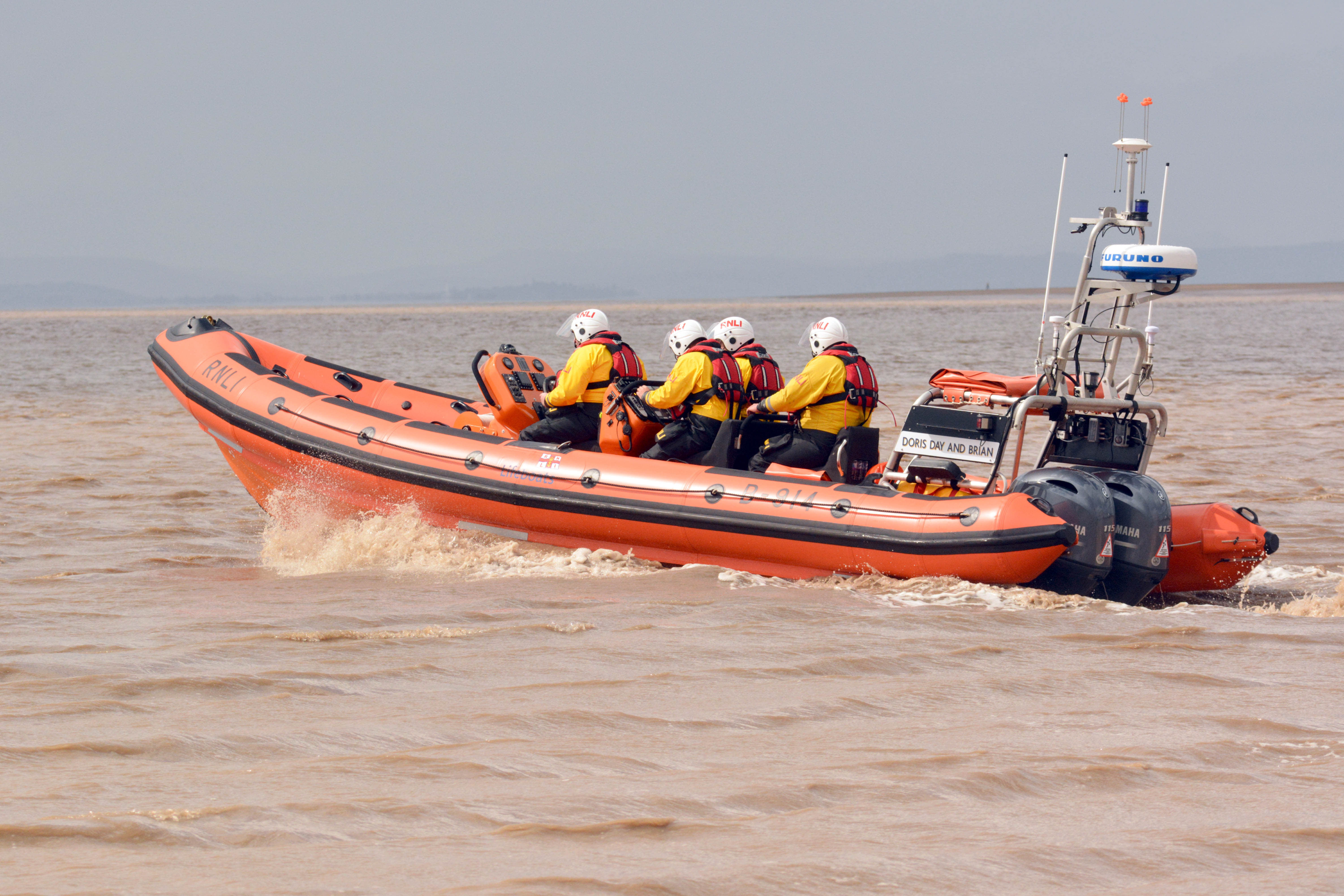 Library image of Burnham-on-Sea Atlantic 85 lifeboat 'Doris Day and Brian'