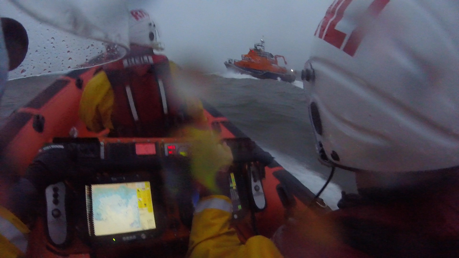 Helmet cam photo from ILB looking at ALB