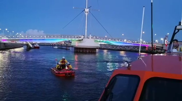 search for missing person in water