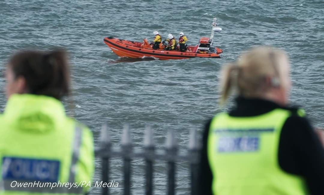 Cullercoats RNLI and Northumbria Police