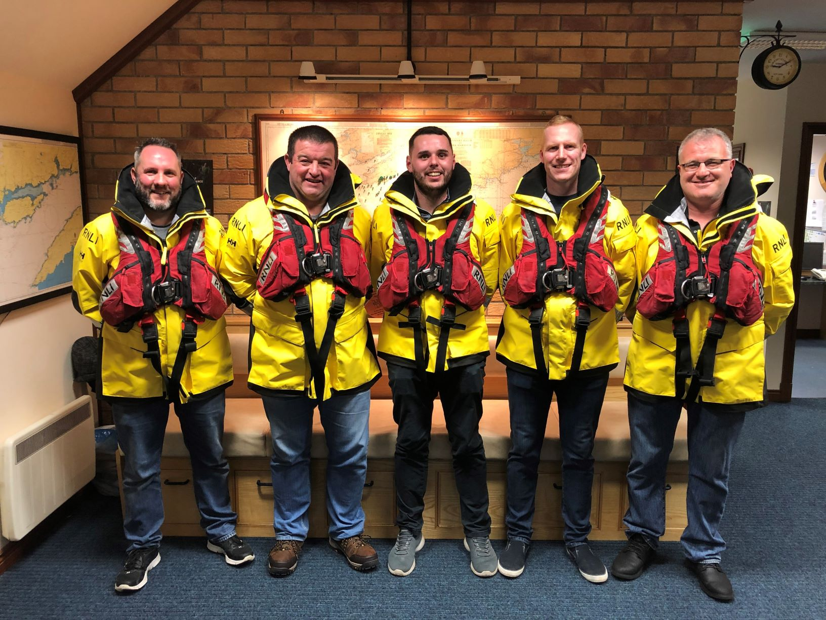 Castletownbere RNLI lifeboat crew
