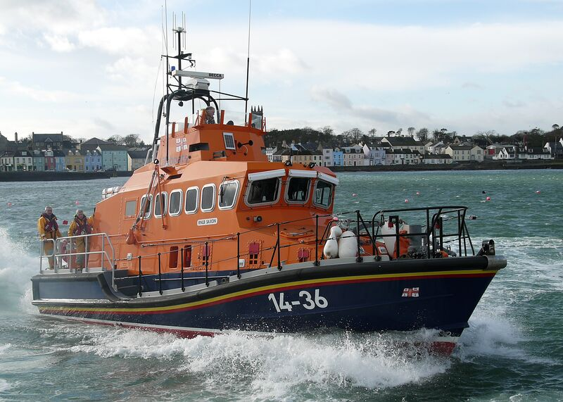 Donaghadee RNLI on exercise