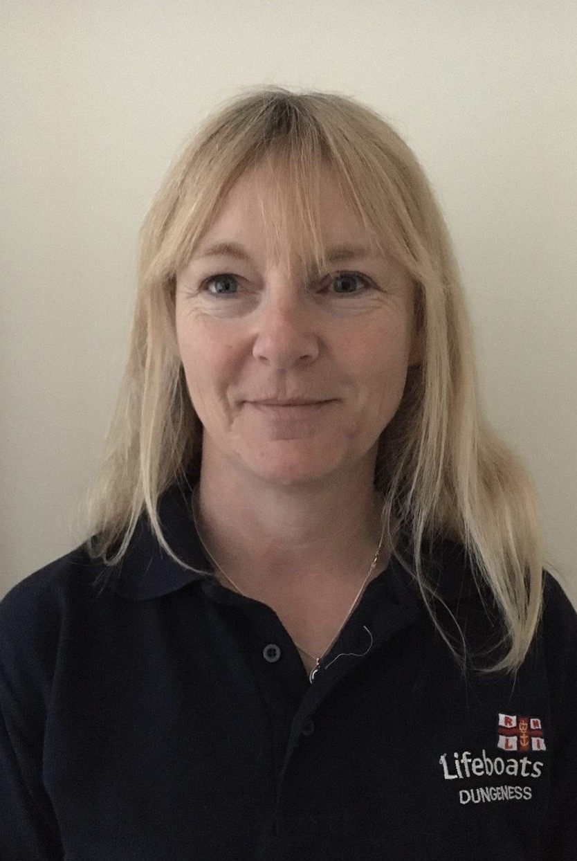 Vicky Morgan newly appointed volunteer DLA (deputy launching authority)
