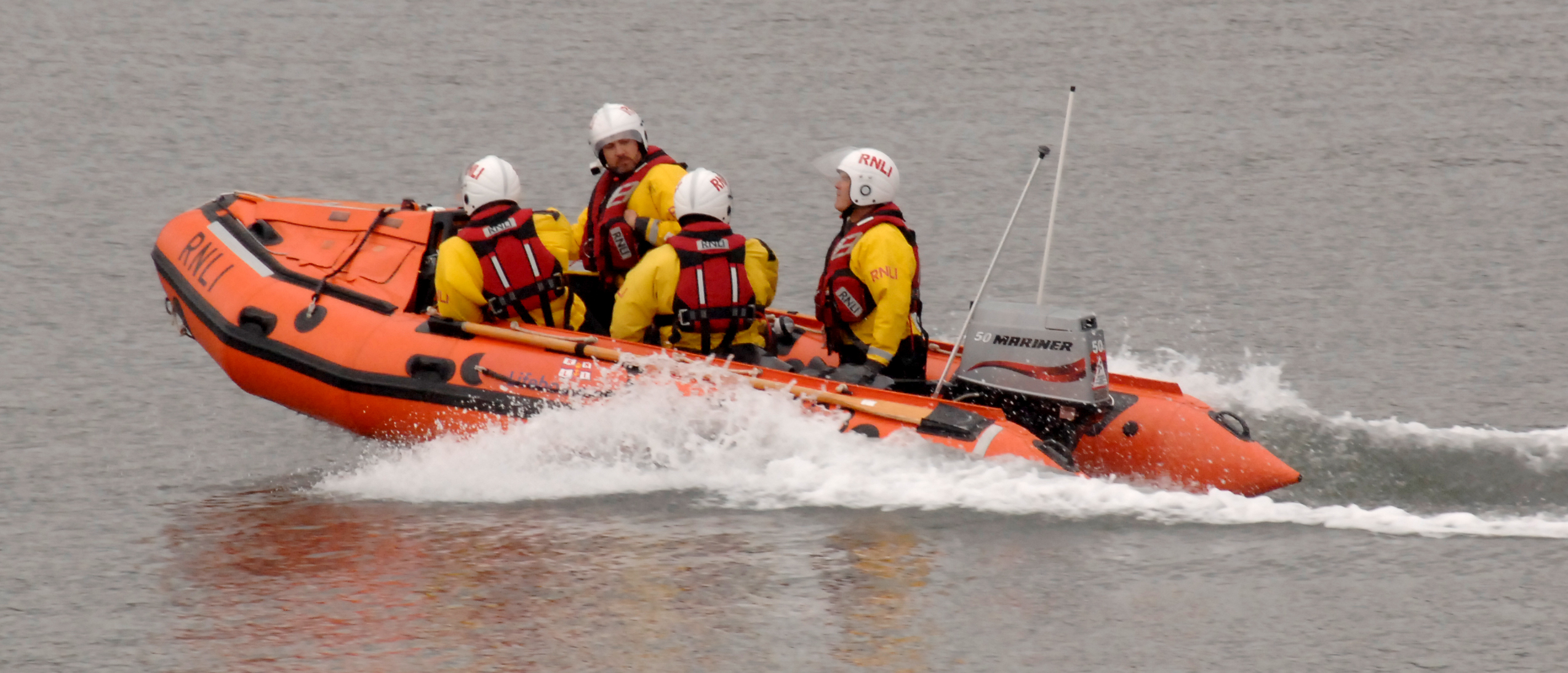 Scarborough RNLI's inshore lifeboat (archive image)