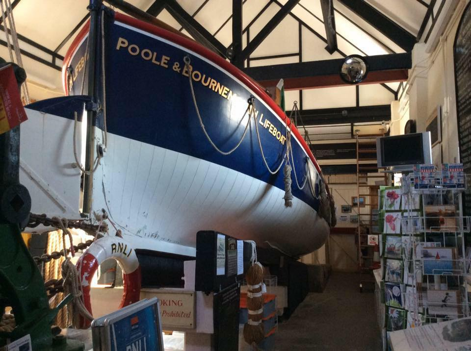 Dunkirk Little Ship in Poole Old Lifeboat Musuem where she served
