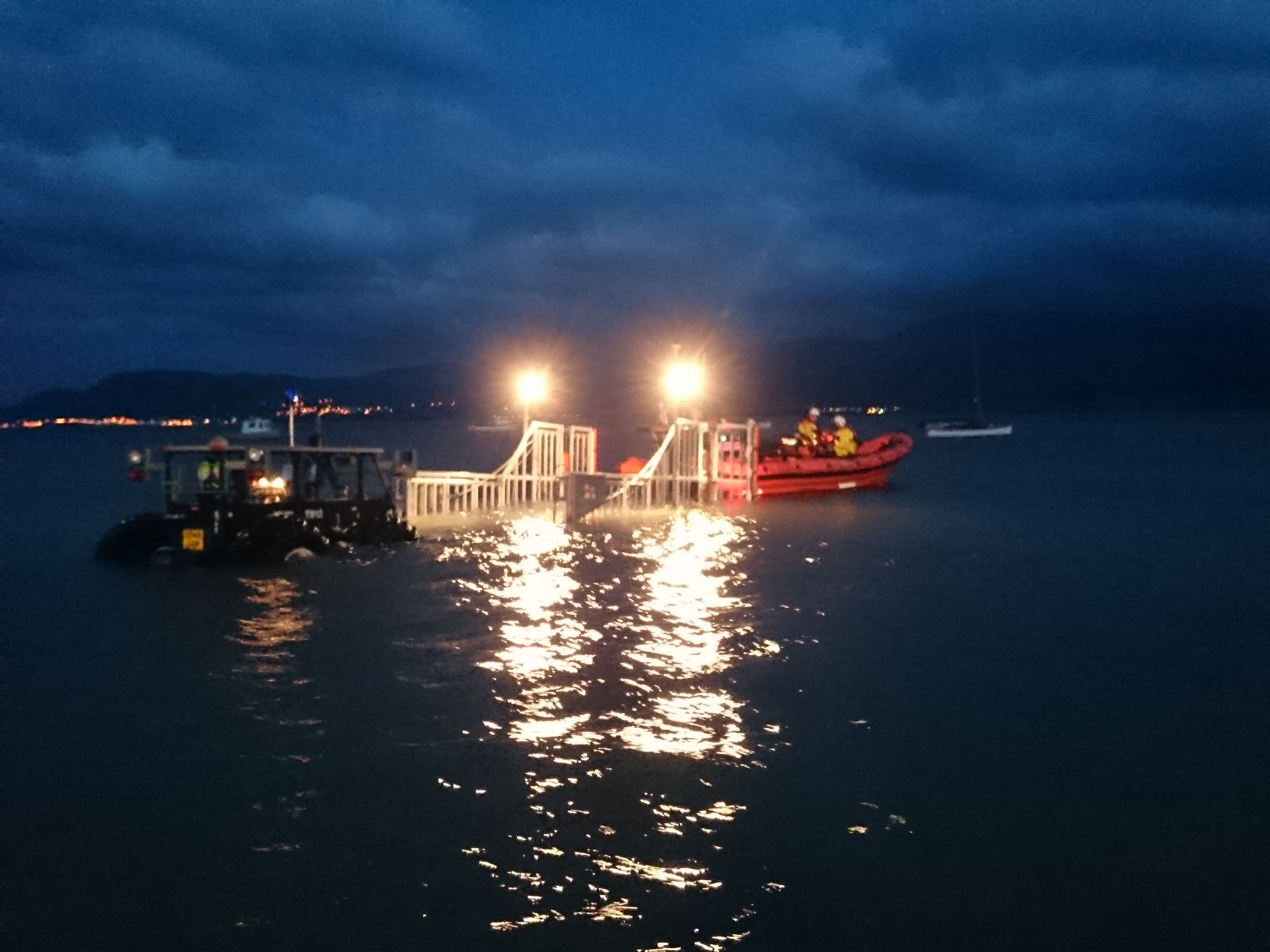 Beaumaris Lifeboat early morning recovery