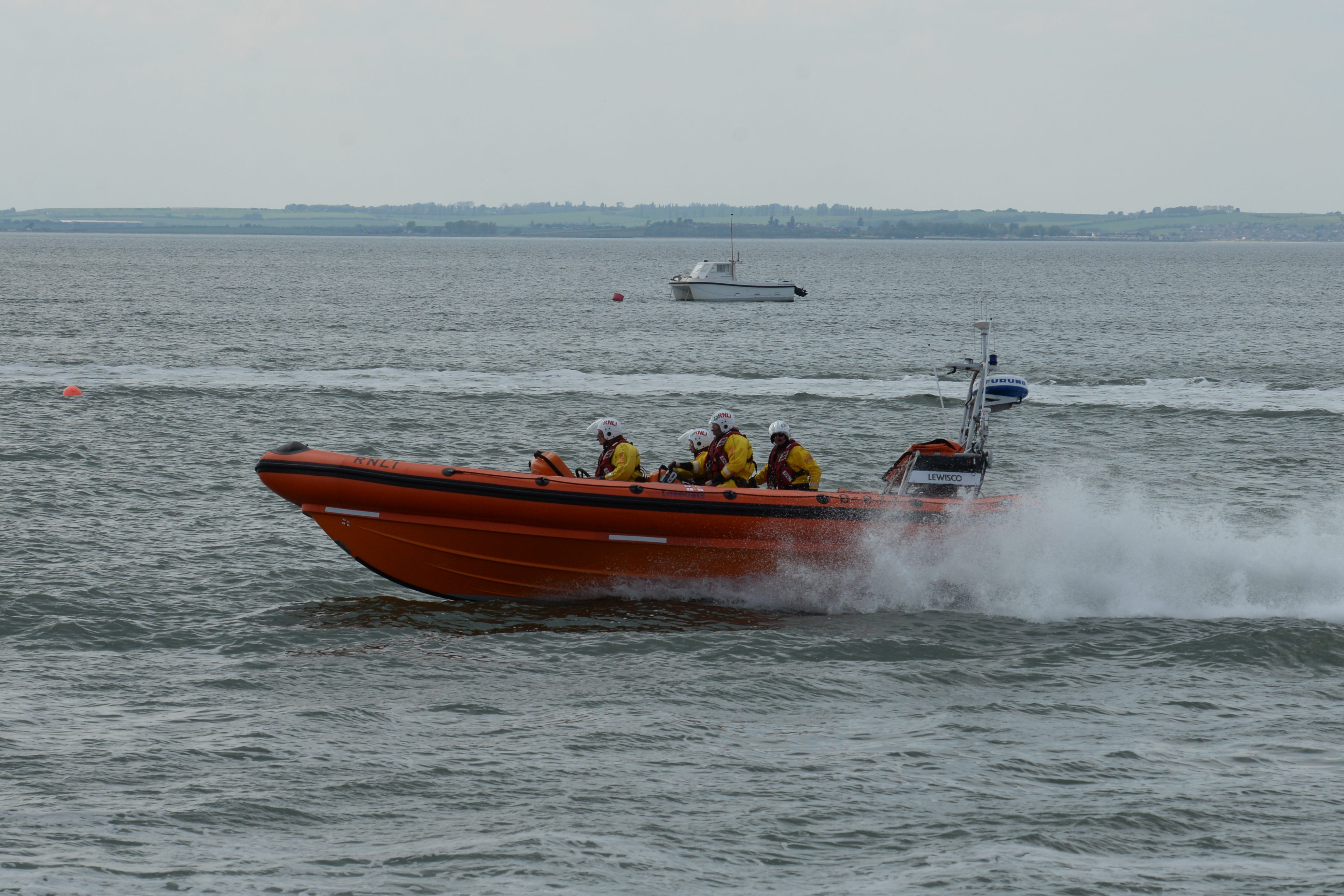 Lewisco, the Whitstable Atlantic 85 lifeboat.