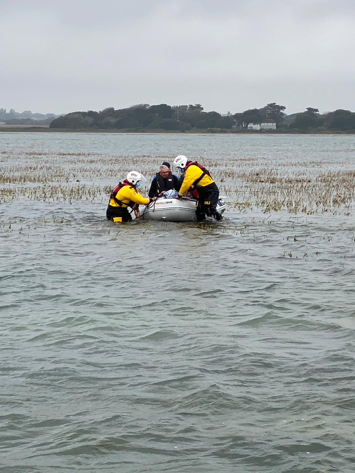 Lymington rescue
