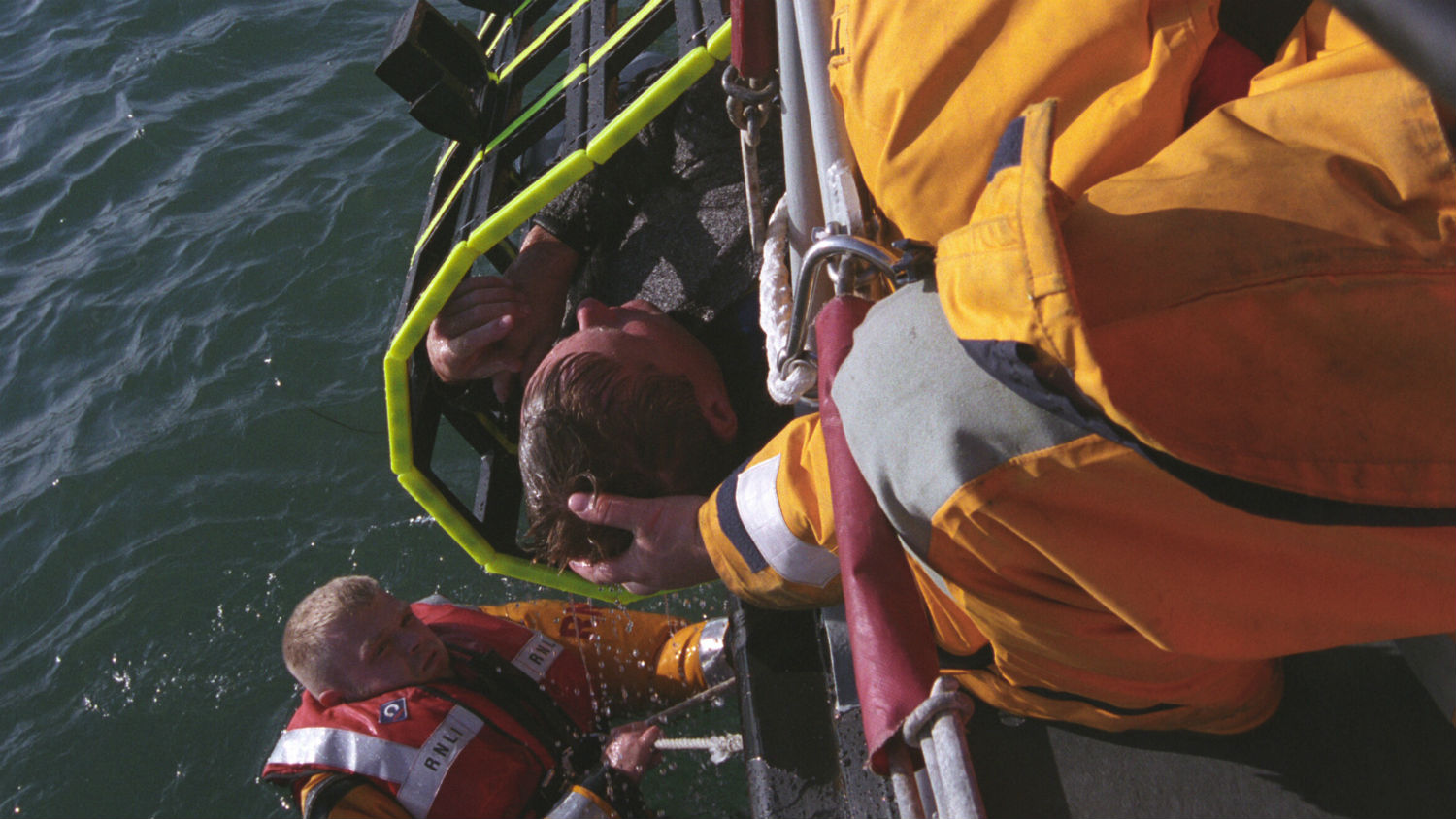Volunteer lifeboat crew have saved lives at sea on Tyne class lifeboats for more than 30 years