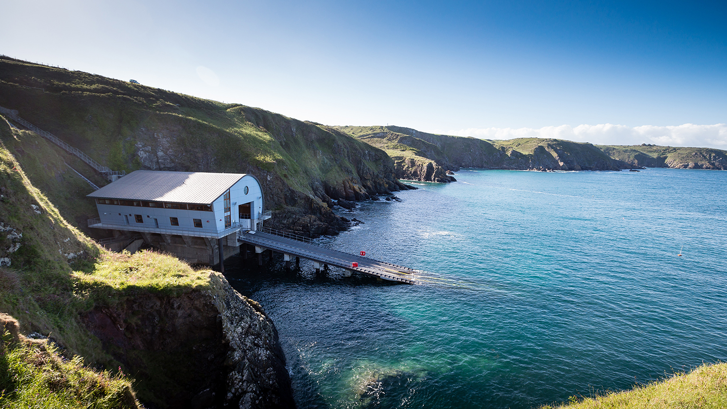 The Lizard Lifeboat Station is one of a growing number of stations that are heated by a water source heat pump
