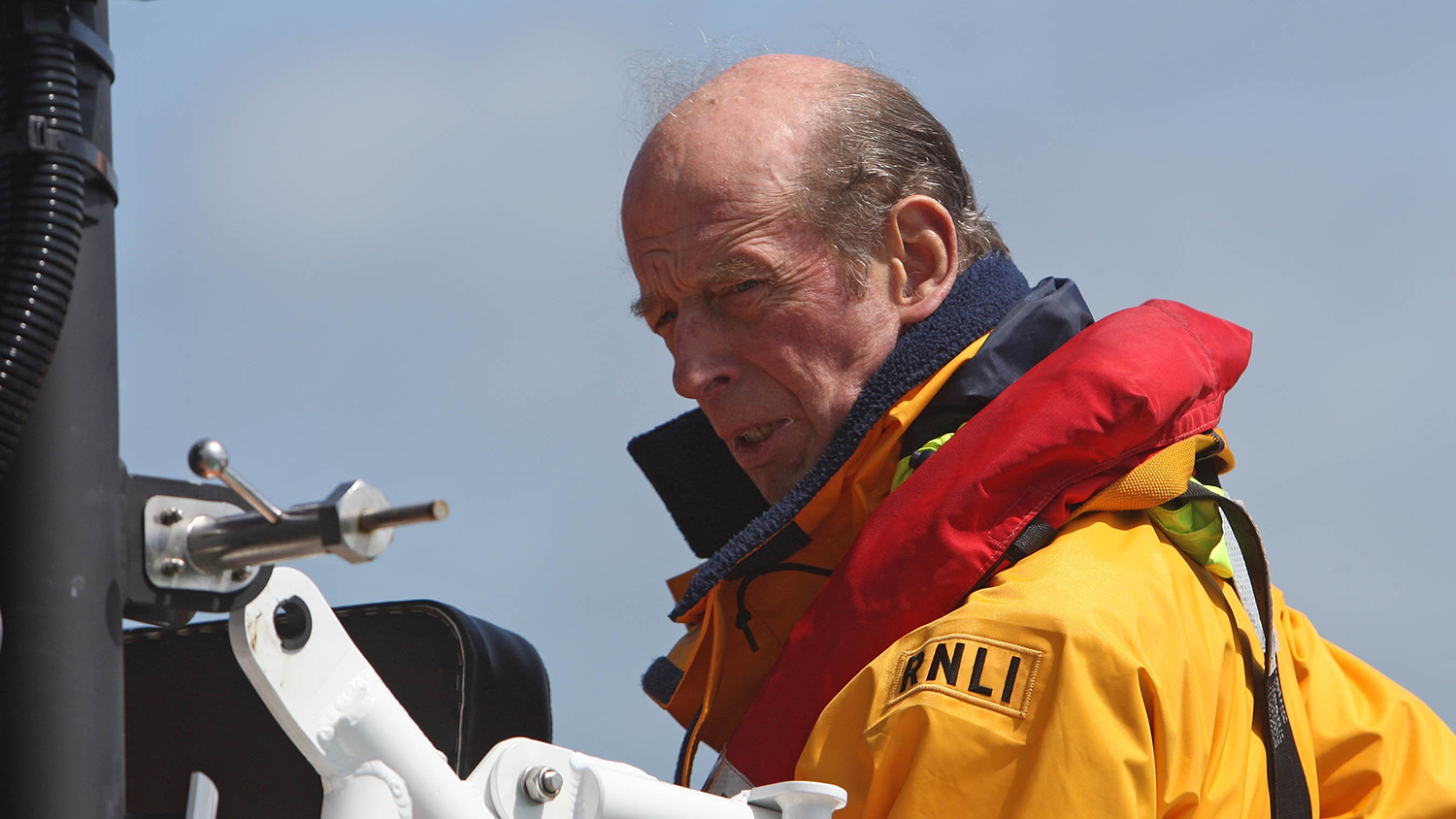 HRH The Duke of Kent visits Padstow Lifeboat Station
