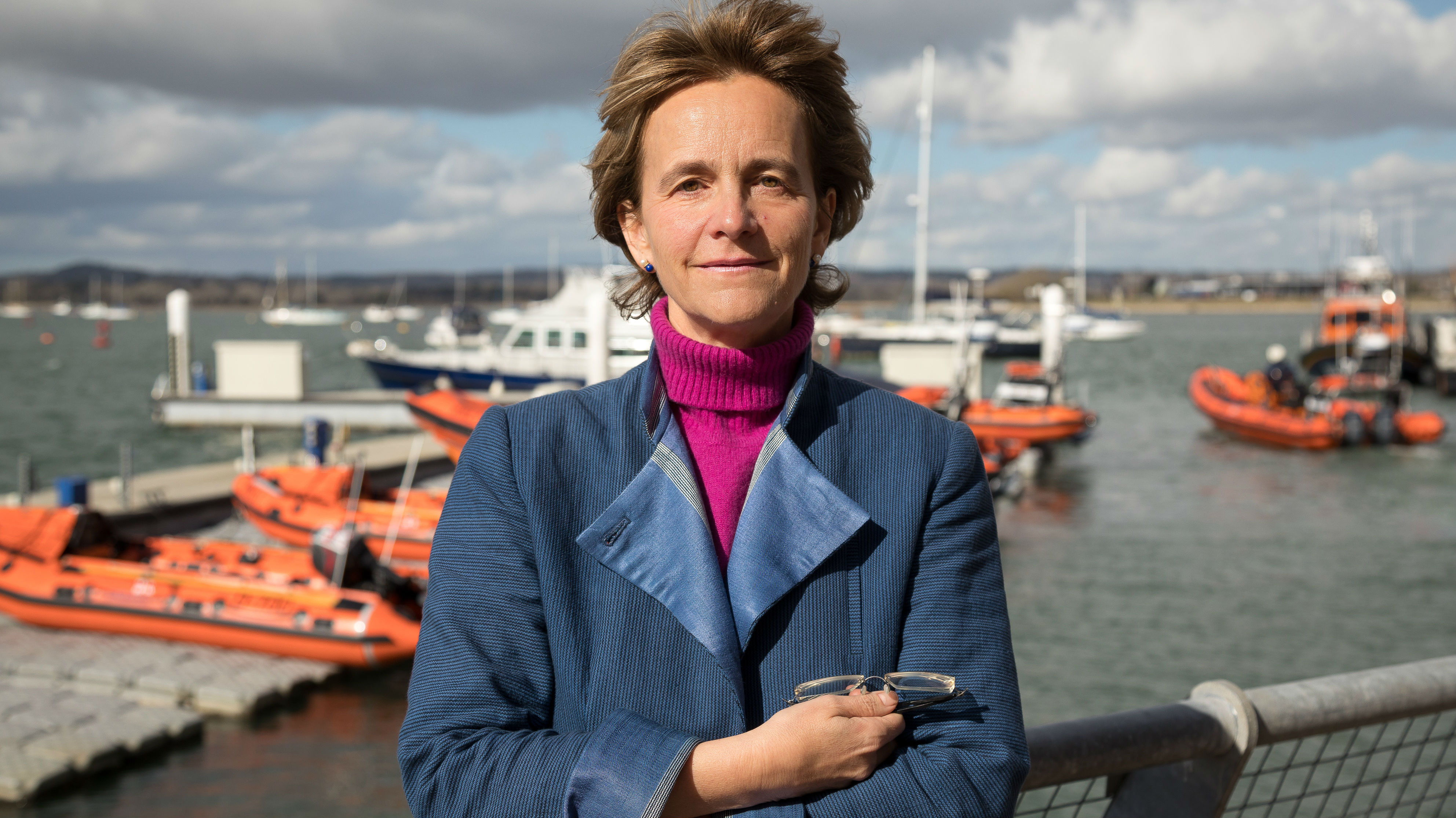 Rosie Norris, RNLI Trustee