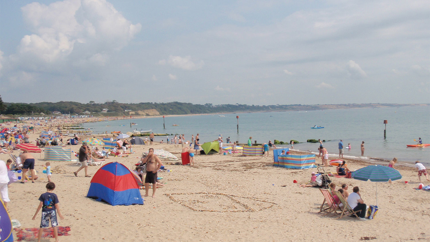 Avon Beach at Christchurch in Dorset is an RNLI lifeguarded beach.